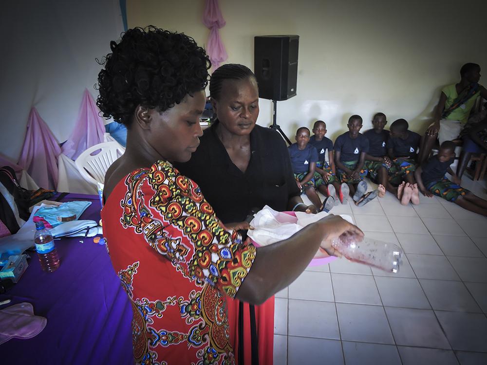 Female Hygiene Program Tanzania